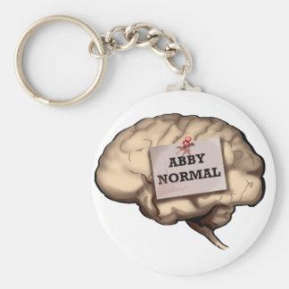 Llavero normal del cerebro de Abby
