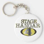 Llavero oficial del hangar 4 de la etapa