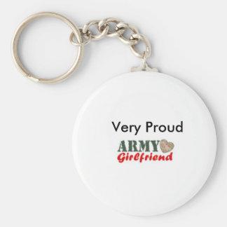 Llavero orgulloso de la novia del ejército