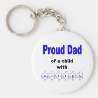 Llavero orgulloso del papá