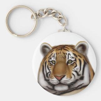 Llavero orgulloso del tigre de Bengala
