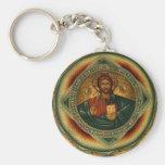 Llavero ortodoxo de Iisus Iisus del Jesucristo