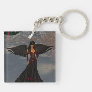 Llavero oscuro caido del ángel