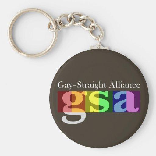 Llavero oscuro clásico de GSA