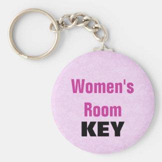Llavero para mujer del sitio - rosa y negro
