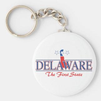 Llavero patriótico de Delaware