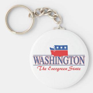 Llavero patriótico de Washington
