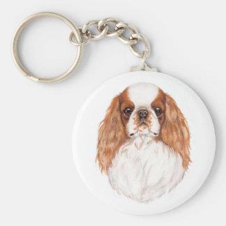 Llavero: Perro de aguas del juguete de Blen (rey C Llavero Redondo Tipo Pin