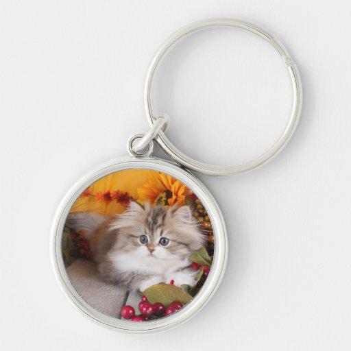 Llavero persa del gatito