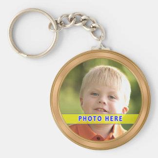 Llavero personalizado de la foto con INSTRUCCIONES