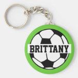 Llavero personalizado del balón de fútbol