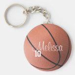 Llavero personalizado del baloncesto