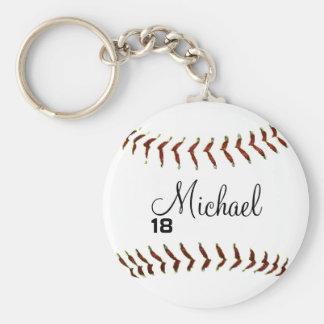 Llavero personalizado del béisbol