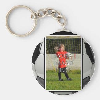 Llavero personalizado del fútbol