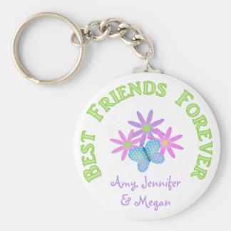 Llavero personalizado del mejor amigo para siempre