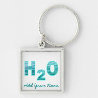 Llavero personalizado H2O