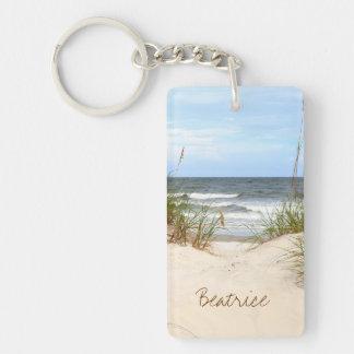Llavero personalizado playa