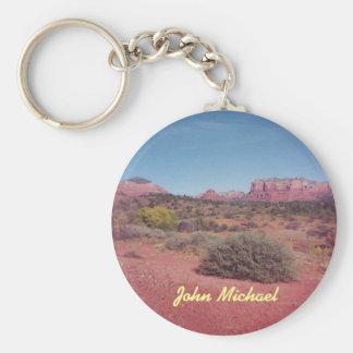 Llavero personalizado Vista del desierto