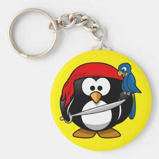 llavero pingüino corsario