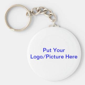 Llavero - ponga su logotipo/imagen aquí