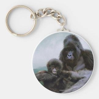Llavero PRECIOSO del gorila de Mtn del