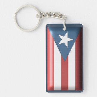 Llavero puertorriqueño de la bandera