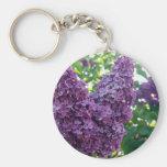 Llavero púrpura de las lilas
