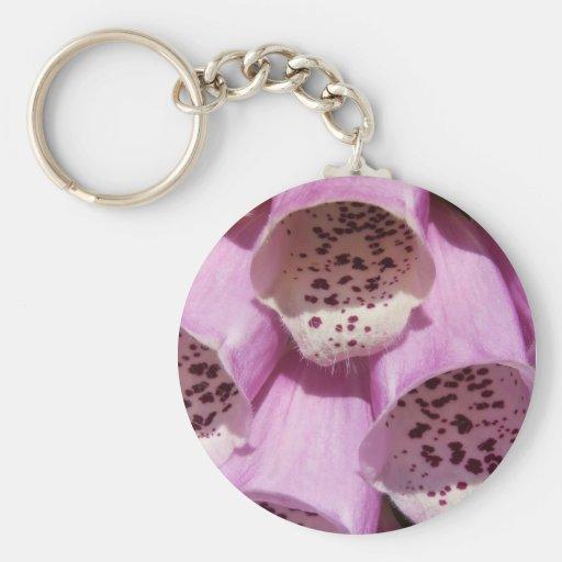 Llavero púrpura del Foxglove