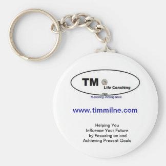Llavero que entrena de la vida de TM - llavero -