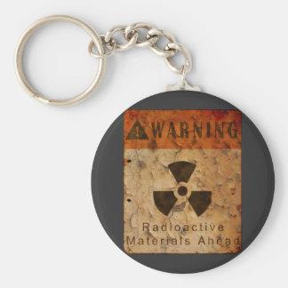 Llavero radiactivo