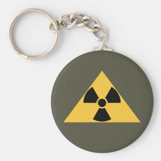 Llavero radiactivo del emblema