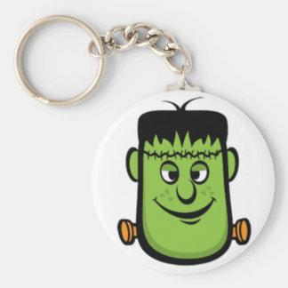 Llavero redondo de Frankenstein