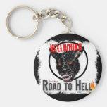 Llavero redondo del Hellhound
