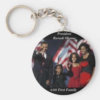 Llavero redondo del recuerdo de Obama