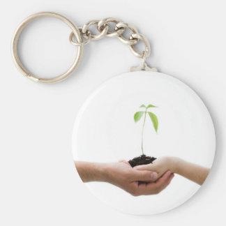 Llavero respetuoso del medio ambiente