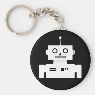 Llavero retro de la forma del robot