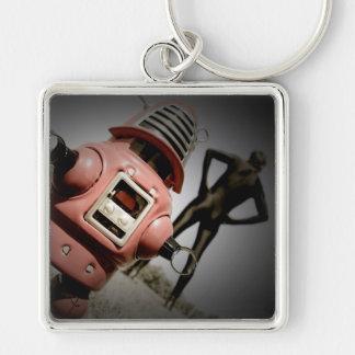 Llavero retro del robot 05 de Robby del juguete