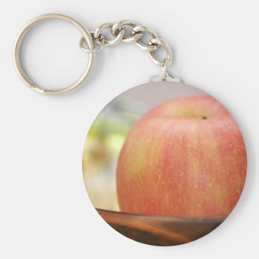 Llavero rojo de Apple