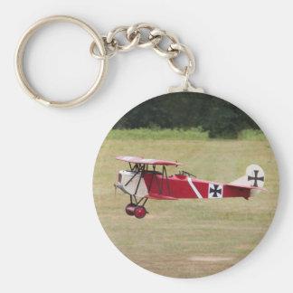 Llavero rojo de Fokker D.VII