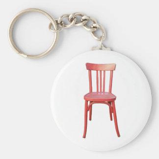 Llavero rojo de la silla