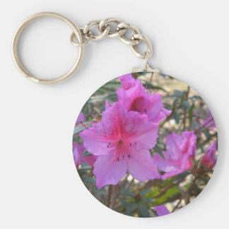 Llavero rosado de las azaleas