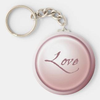 Llavero rosado del amor