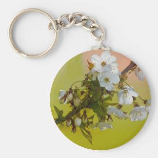 Llavero salvaje de la flor de cerezo