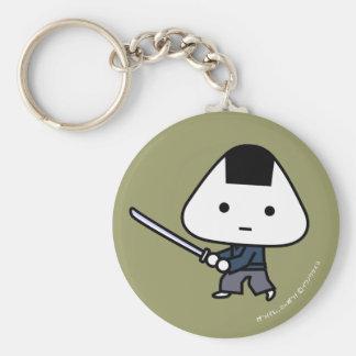 Llavero - samurai de RiceBall - GoldBack