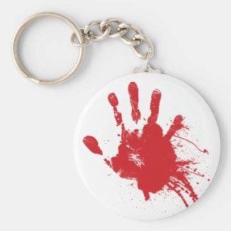 Llavero sangriento de Handprint