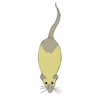 llavero siamés de la rata del punto del sello llavero fotográfico