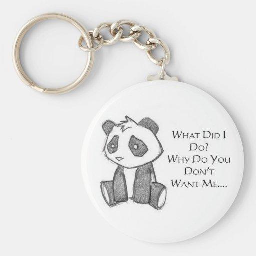 Llavero solo de la panda