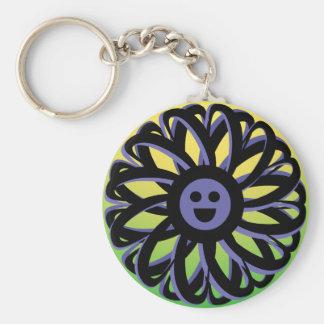 Llavero sonriente de la flor de Sally - 369