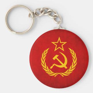 Llavero soviético de la bandera