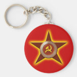 Llavero soviético de la estrella